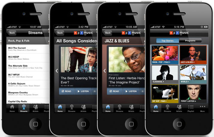 NPR Music iPhone App